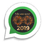 Figurinhas Ano Novo 2019 WhatsApp - WAStickerApps icon