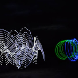 by Cheryl Larsen - Abstract Light Painting