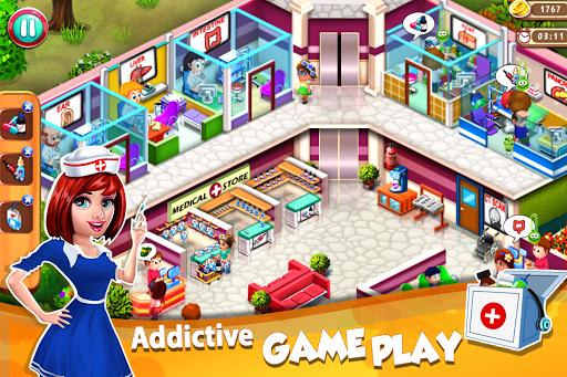 Code Triche Doctor Mania : Hospital Game APK MOD screenshots 2