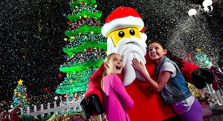 Build some lasting memories at LEGOLAND's Christmas Bricktacular
