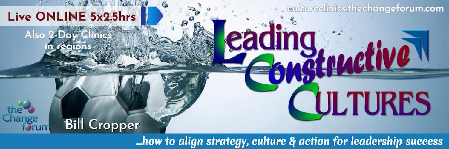 Leading Constructive Cultures - ONLINE