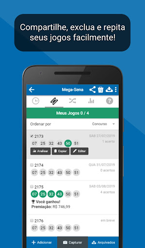 Loterias Mega Sena screenshot 7