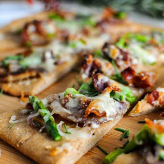 Bacon And Blue Cheese Flat Breads