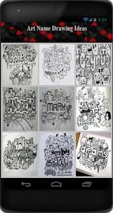 تحميل Art Name Drawing Ideas Apk 1 0 Apk لالروبوت فن وتصميم