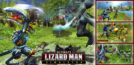 Angry Lizardman Simulator - Animal Fighting Games - Apps on Google Play