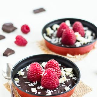 Coconut Cream Chocolate Ganache Pots