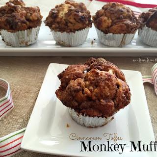 Cinnamon Toffee Monkey-Muffins.