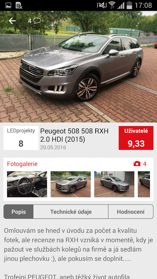 Auto.cz- screenshot