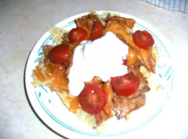 Bbq Shredded Chicken Nachos Recipe