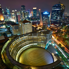 cityscape by Johan Muliawan - City,  Street & Park  Night ( cityscape )