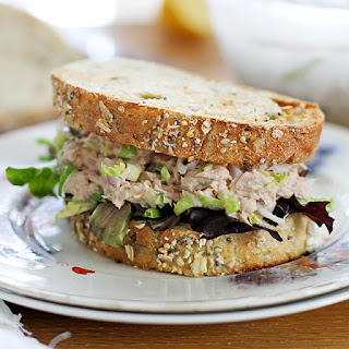Easy Brussels Sprout Tuna Salad.