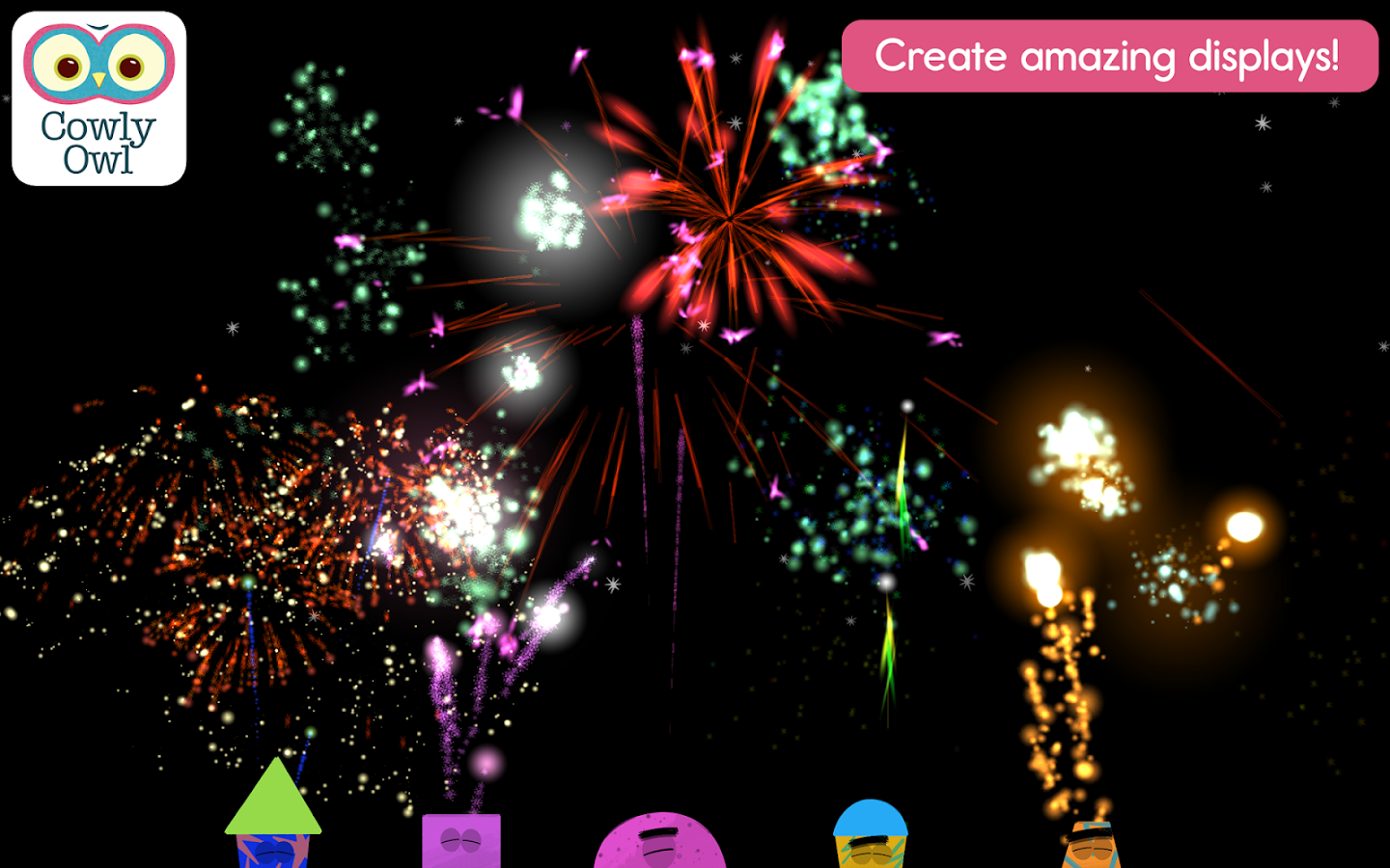 Fireworks Lab- screenshot