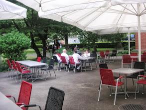 Photo: Wunderschöner Aussenbereich angrenzend an den  Spielpark.