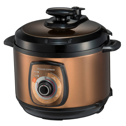 This Mdea pressure cooker help you to cook tastier meals effortlessly. Source: Midea