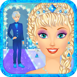 ? Icy Dress Up: Snow Queen's Wedding Icon