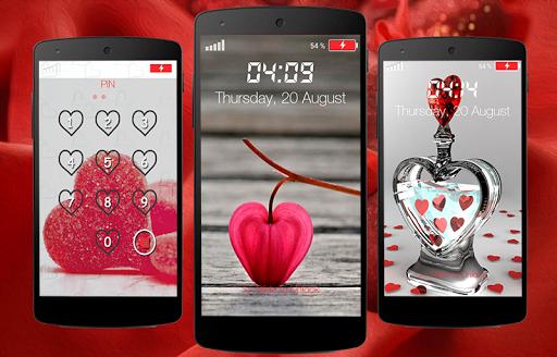 Love Pin Lock Screen