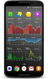 Meteogram Pro Weather Widget Screenshot