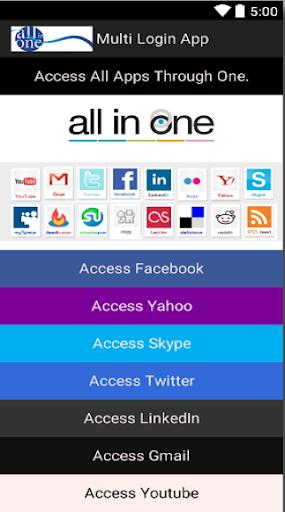 Multi Login App