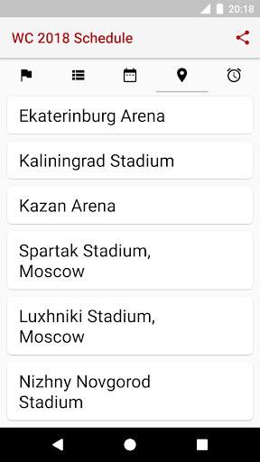 ud83cudfc6World Cup 2018 Schedule 2018.1.17 screenshots 6