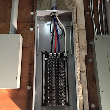 Photo: residential electrical contractor