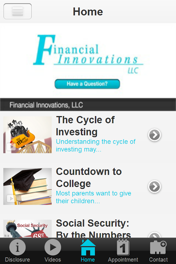 Financial Innovations LLC- screenshot