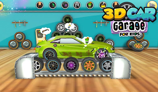 3D Car Garage For Kids v1.0.1