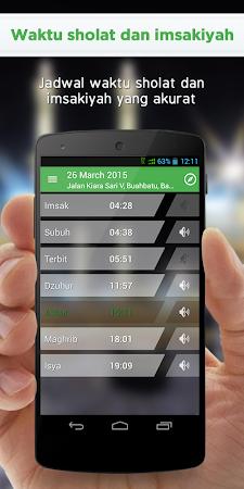 Alarm Adzan Sholat dan Kiblat 1.7.2 screenshot 319619