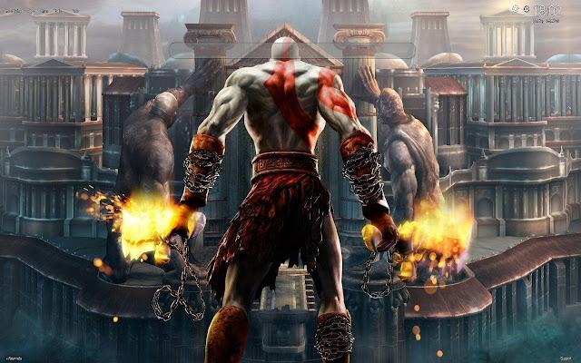 God of War HD Wallpapers New Tab