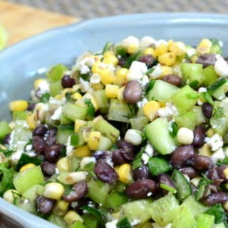 Corn Black Bean And Cucumber Recipes
