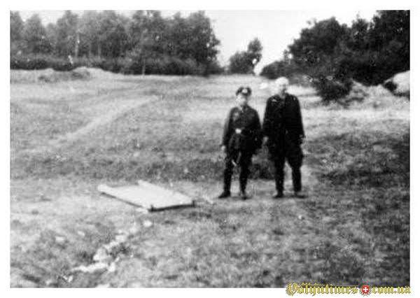 Фото з розстрільних ям м.Луцька 1941 р.