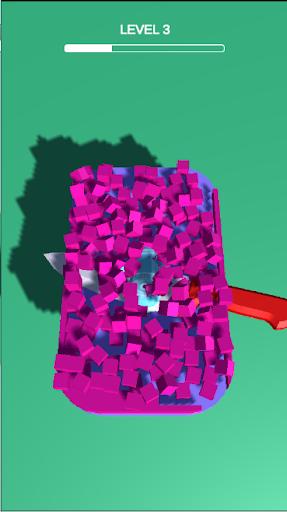 Soap Slice - Soap Cutting Game  captures d'écran 2