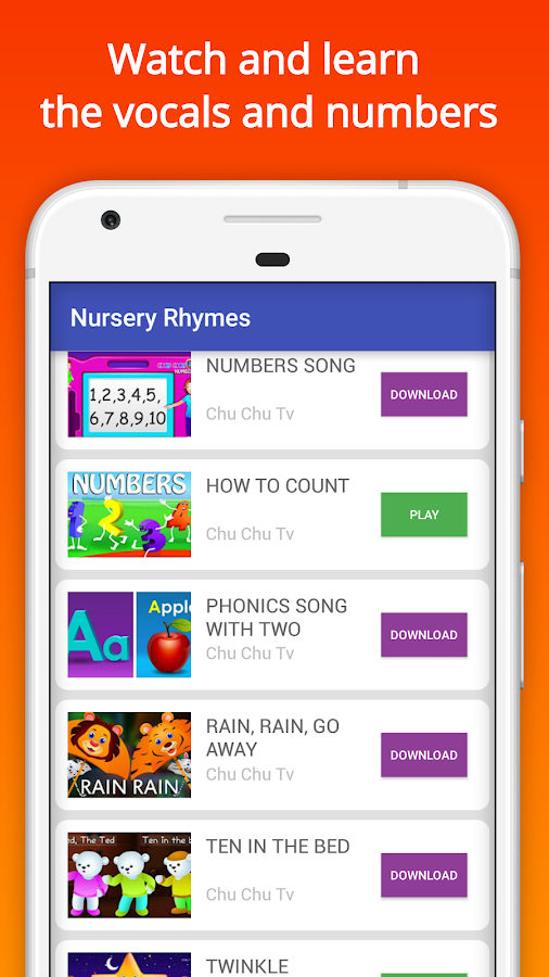 Nursery Rhymes Videos Offline- screenshot