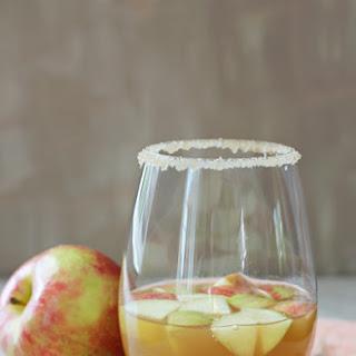 Honey Cinnamon Apple Cider Sangria