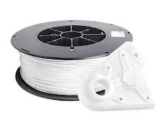 White PRO Series PLA Filament - 1.75mm (5lb)