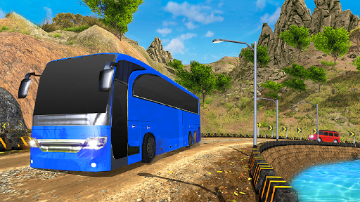 Offroad Tourist Bus Uphill Mountain Drive 1.0 screenshots 3