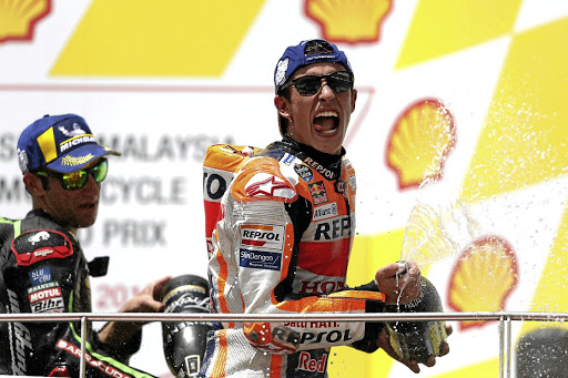 Marc Marquez claimed his ninth win of the season.