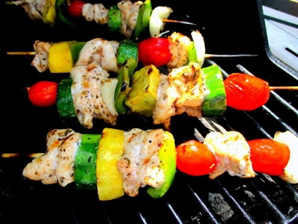 Place on prepared grill or you can broil them as well. Brush with marinade...