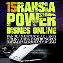 15 RAHSIA POWER BISNES ONLINE icon