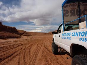 Photo: la piste vers Antelope
