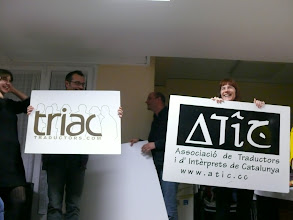 Photo: L'ATIC i TRIAC s'acomiaden