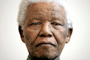 First black president of South Africa, Nelson Mandela.