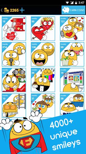 Emojidom emoticons for texting, emoji for Facebook 5.6 screenshots 1