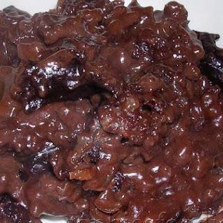 Nigella's Chocolate Rice Pudding