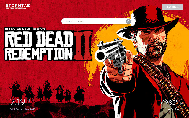 Red Dead Redemption 2 Wallpapers & New Tab