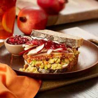 Leftover Turkey Super Sandwiches.