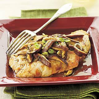 Chicken and Shiitake Marsala.