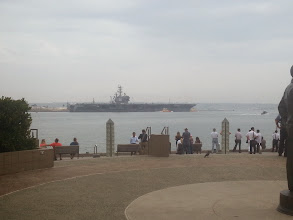 Photo: Number 76 leaving port