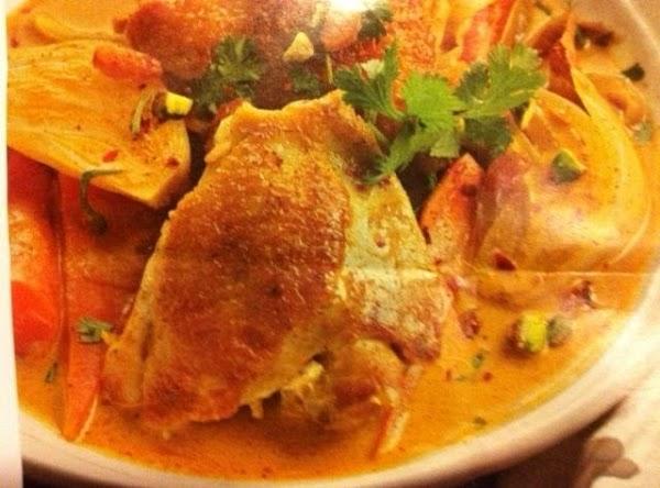 Curried Chicken Stew Recipe