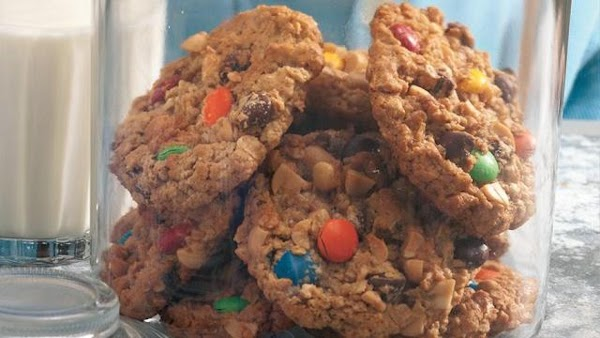 Trail Mix Monster Cookies Recipe