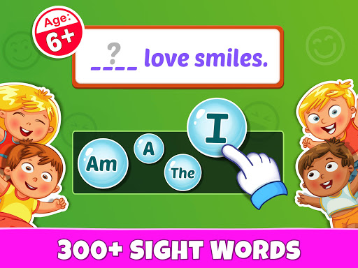 Sight Words - PreK to 3rd Grade Sight Word Games 1.0.5 screenshots 8
